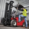 How to safely mount & dismount a forklift truck