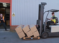 Forklift safety and damage reduction