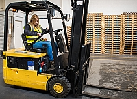 Forklift operators returning to work