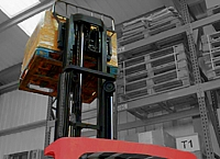 Common causes of forklift tip-overs